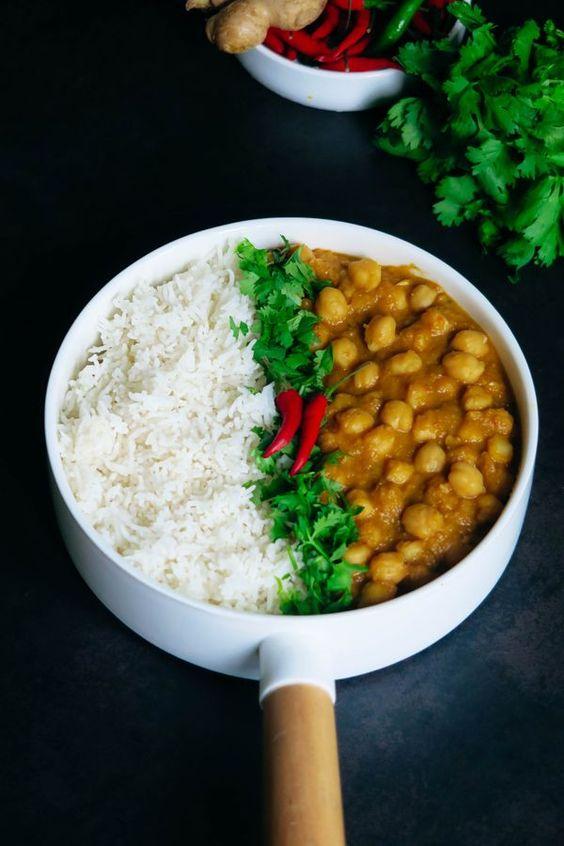 rice channa masala